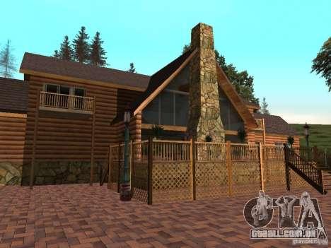 Villa nova para o CJ para GTA San Andreas terceira tela