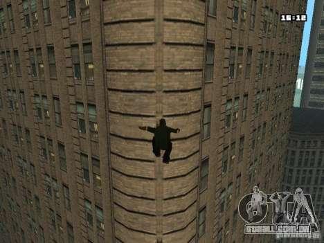 Parkour Mod para GTA San Andreas sexta tela