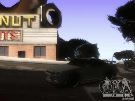 ENB de GTA IV para GTA San Andreas quinto tela