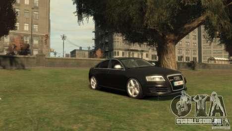 Audi RS6 v.1.1 para GTA 4 vista direita