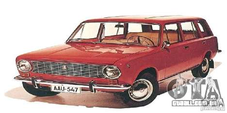 Telas de boot para os carros da URSS para GTA San Andreas por diante tela