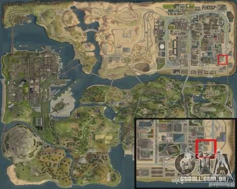Novo posto de gasolina Shell para GTA San Andreas sexta tela