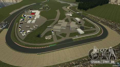 SPA Francorchamps [Beta] para GTA 4 nono tela
