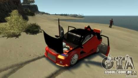 RENAULT LOGAN SPORT para GTA 4 vista interior