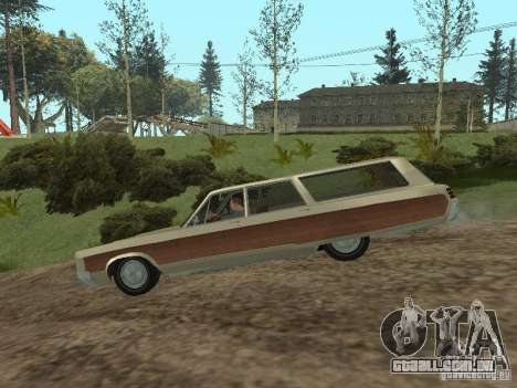 Chrysler Town and Country 1967 para GTA San Andreas traseira esquerda vista