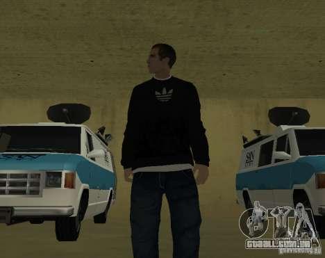 Repórter italiano para GTA San Andreas segunda tela