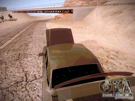 GÁS-31025 para GTA San Andreas vista interior