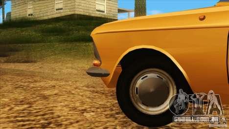 Moskvich 412 v 2.0 para GTA San Andreas vista superior