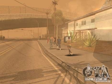 Terremoto para GTA San Andreas oitavo tela