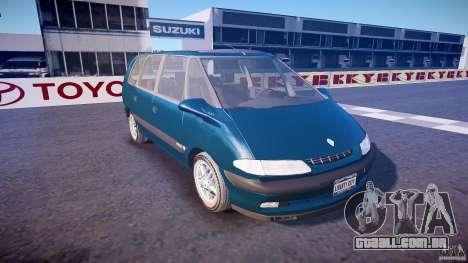 Renault Grand Espace III para GTA 4 vista interior