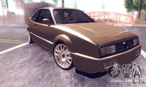 Volkswagen Corrado para GTA San Andreas vista interior