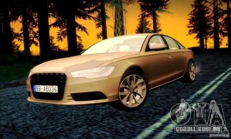 Audi A6 2012 para o motor de GTA San Andreas