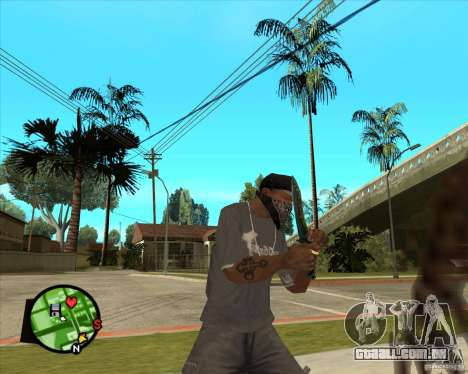 Faca do Counter-strike para GTA San Andreas terceira tela