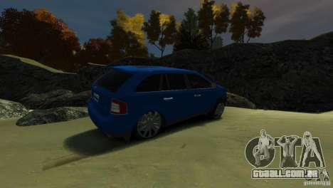 Ford Edge 2007 para GTA 4 vista direita
