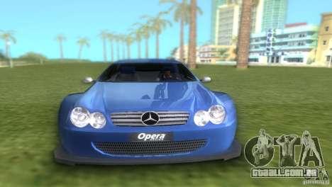 Mercedes-Benz CLK500 C209 para GTA Vice City vista direita