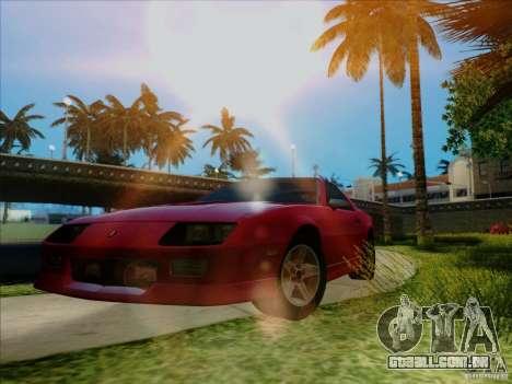 ENB v 1.01 para PC para GTA San Andreas segunda tela