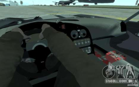 Dodge Viper Competition Coupe para GTA 4 vista de volta