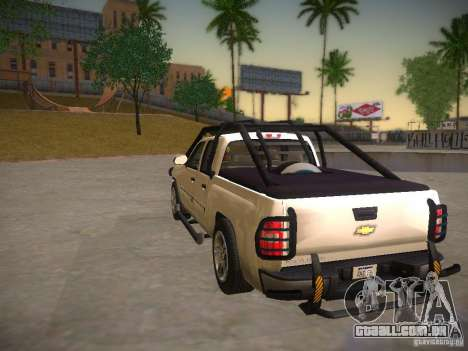 Chevrolet Silverado para GTA San Andreas vista direita