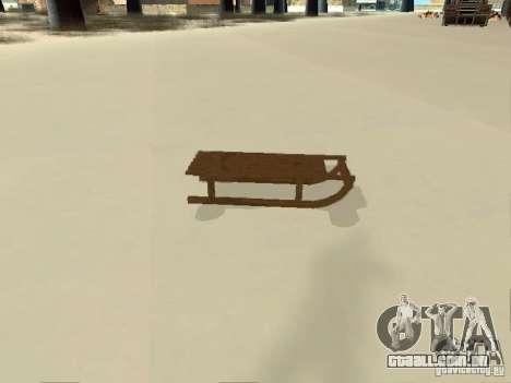 Sledge v1 para GTA San Andreas vista direita