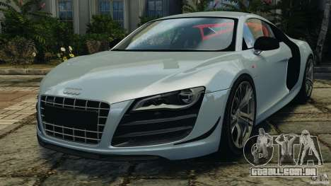 Audi R8 GT 2012 para GTA 4