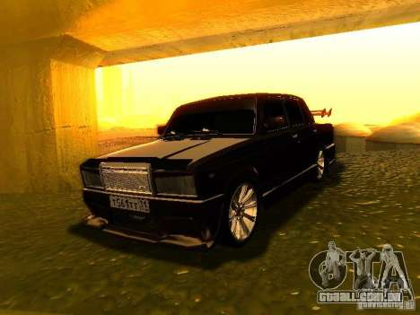 VAZ 2107 X-estilo para GTA San Andreas