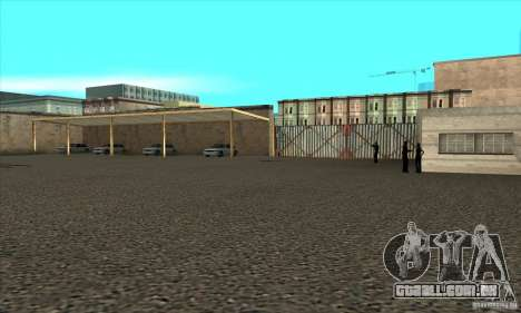 Renovação de condução escolas em San Fierro para GTA San Andreas por diante tela
