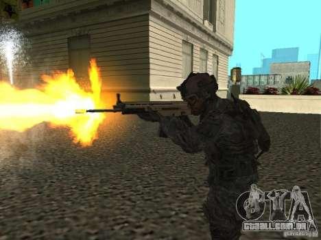 USA Army Ranger para GTA San Andreas terceira tela