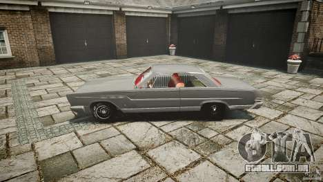 Ford Mercury Comet Caliente Sedan 1965 para GTA 4 esquerda vista