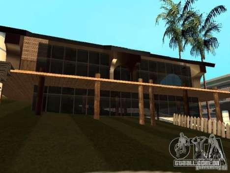 Villa em San Fierro para GTA San Andreas nono tela