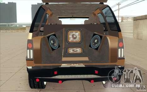 Cadillac Escalade 2004 para GTA San Andreas vista interior