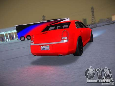 Chrysler 300C SRT8 2011 para GTA San Andreas vista interior