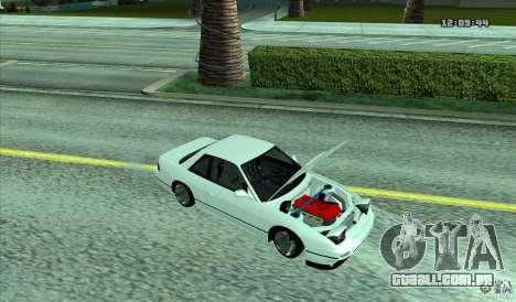 Nissan Silvia S13 Old School para GTA San Andreas traseira esquerda vista