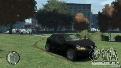 Volkswagen Concept para GTA 4 vista direita