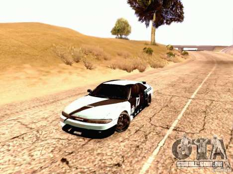 Nissan Silvia S14 Matt Powers 2012 para GTA San Andreas