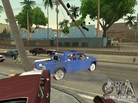 Ballas 4 Life para GTA San Andreas por diante tela