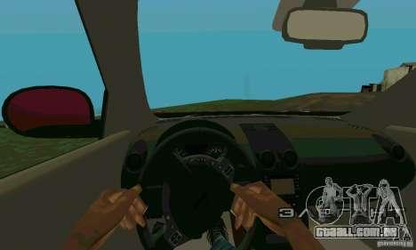 Nissan Juke para GTA San Andreas vista traseira