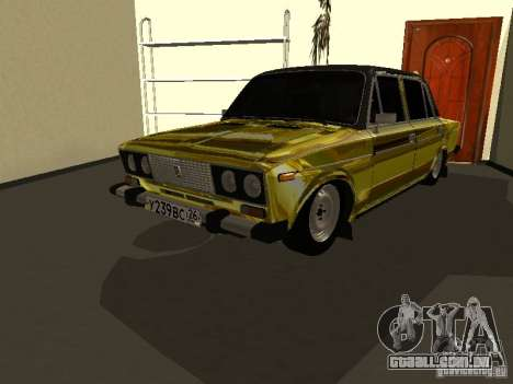 VAZ 2106 (ouro) para GTA San Andreas