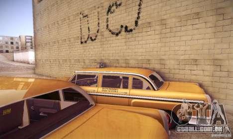 Cabbie HD para GTA San Andreas vista interior