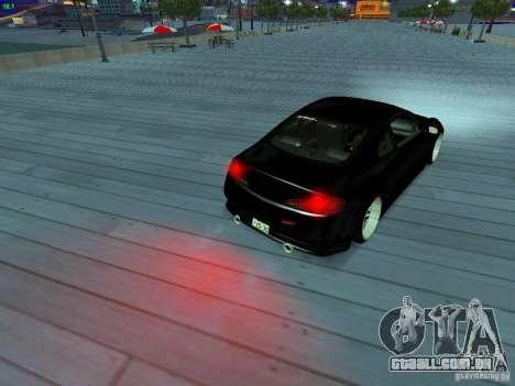 Infiniti G35 V.I.P para o motor de GTA San Andreas