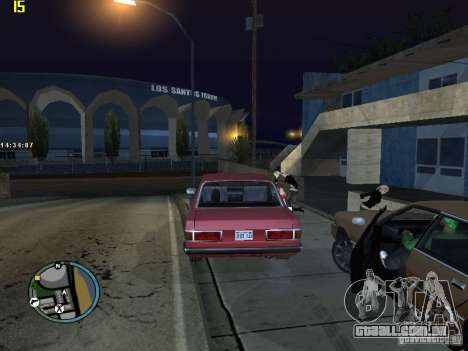 GTA IV  San andreas BETA para GTA San Andreas décimo tela