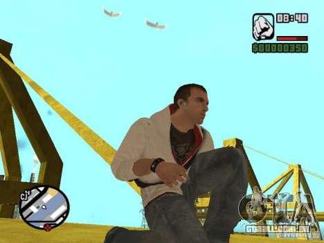 Desmond Miles para GTA San Andreas oitavo tela