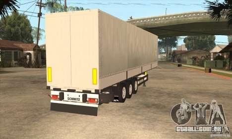 Trailer para GTA San Andreas vista direita