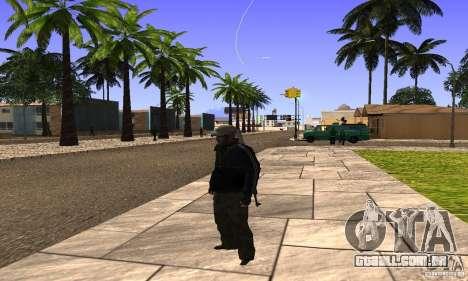 Grove Street v1.0 para GTA San Andreas quinto tela