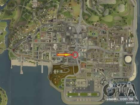 Forças especiais-CJ para GTA San Andreas nono tela