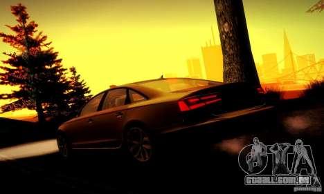Audi A6 2012 para as rodas de GTA San Andreas