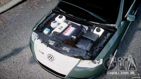Volkswagen Passat Variant R50 para GTA 4 vista interior