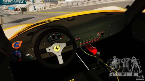Ferrari F50 GT 1996 para GTA 4 vista de volta