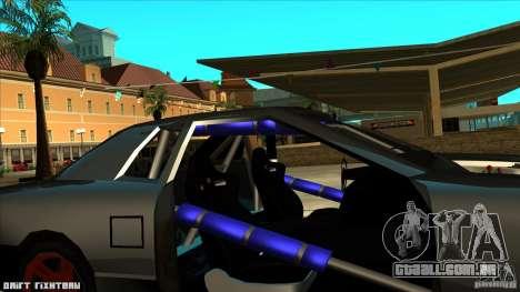 Elegy hard para GTA San Andreas vista traseira