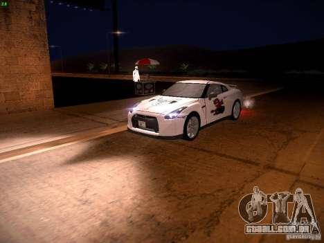 Nissan GT-R para as rodas de GTA San Andreas