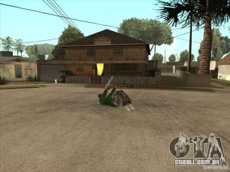 Parkour 40 mod para GTA San Andreas sétima tela